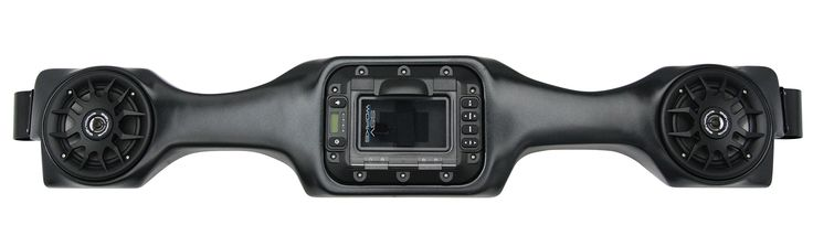 SSV Works WP-PNO Honda Pioneer 700 BLUETOOTH 2 Speaker Overhead Stereo System. BLUETOOTH Enabled or can dock and charge your iPod or iPhone in the secure watertight locker, with Slam Latch polycarbonate door, On board bezel mounted rubberized controls. 100% Waterproof Locker keeps your iPod or iPhone dry while providing excellent sound quality from the weatherproof marine speakers, Includes Built in FM Tuner. Ultra Efficient 50x4 Low Power Consumption Digital Amplifier provides incredible...