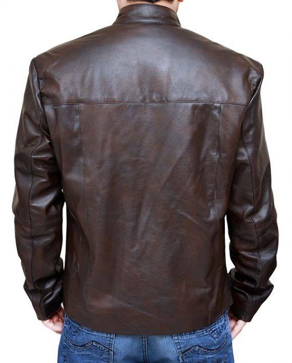 Star Wars Force Awakens Leather Jacket