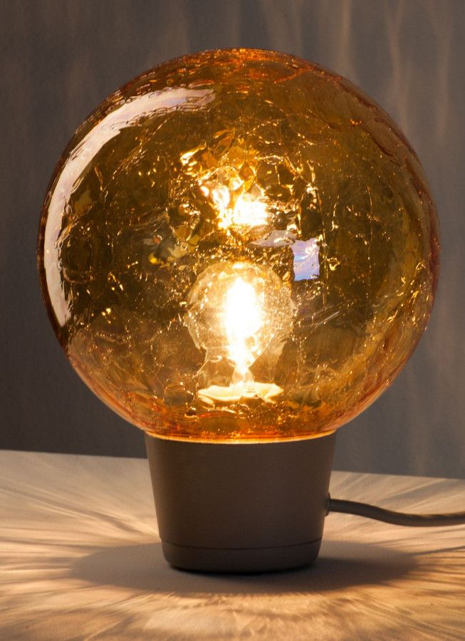 Glass table #lamp SHIBUYA by ZERO | #design Thomas Bernstrand