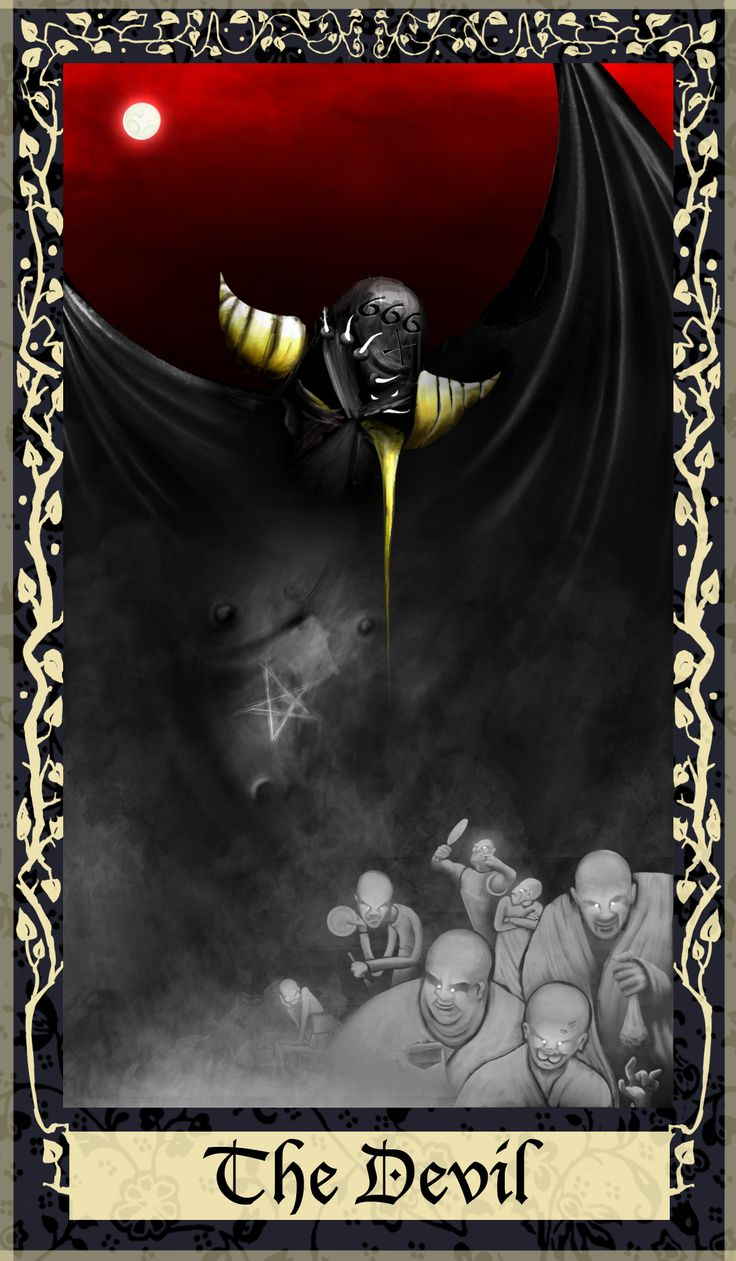 1000+ Images About The Devil (Tarot Card) On Pinterest