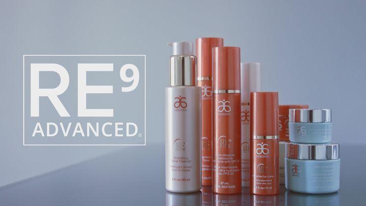 Arbonne RE9 Advanced Skincare Collection (Tutorial)