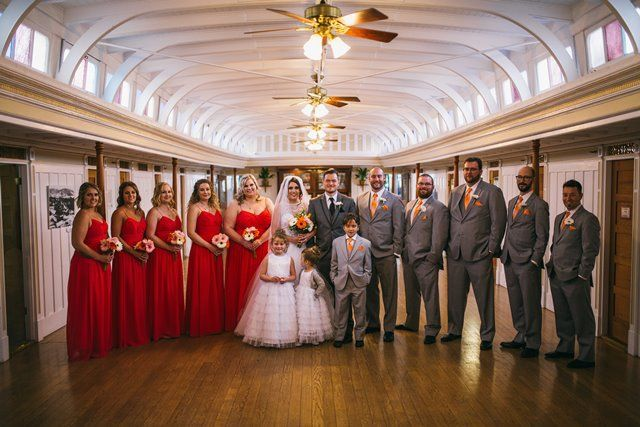Wedding Party - in the Dining Saloon - Photo by Justine Russo