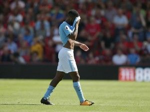 Pep Guardiola confused by Raheem Sterling red card #Manchester_City #Football #305684