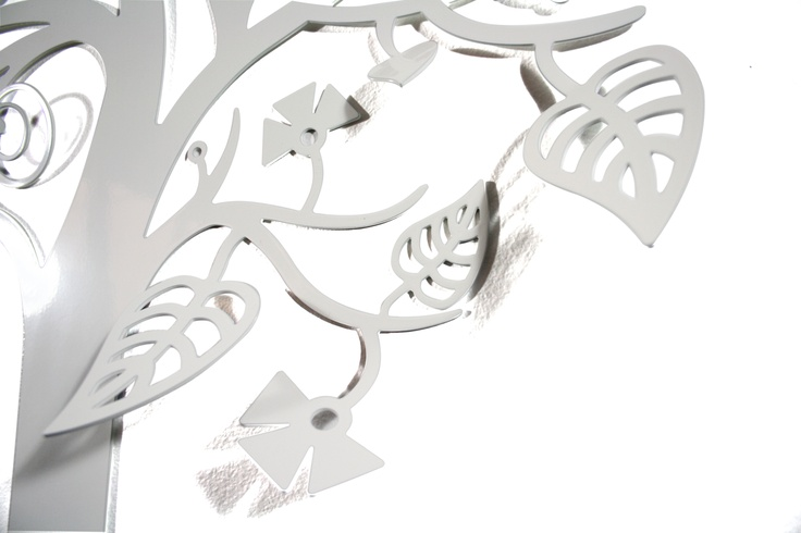 """Fantasy Tree"", white 