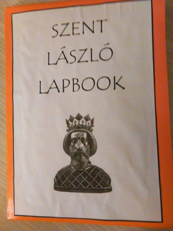 Szent László lapbook