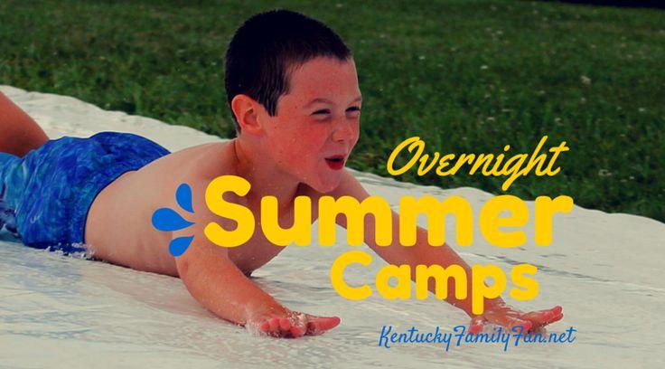 List of overnight / sleep away camps in Kentucky