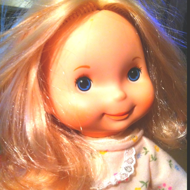 My vintage Fisher Price Mandy doll