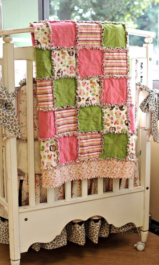 rag quilt - Click image to find more Kids Pinterest pins
