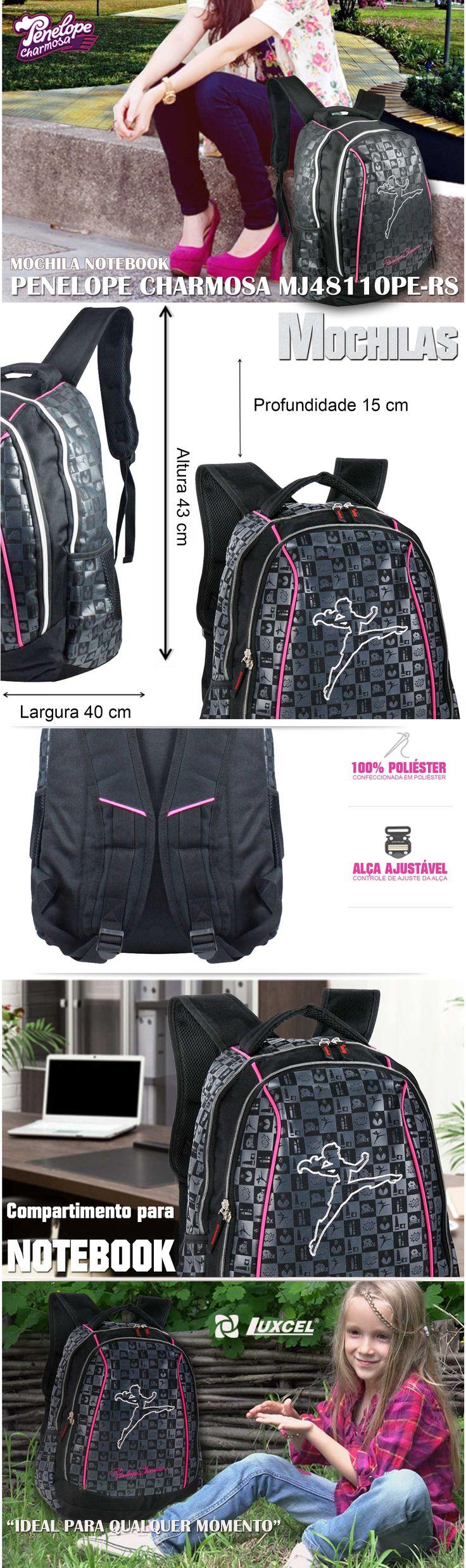 Mochilas escolares Penélope Charmosa . A maior variedade de bolsas, malas e mochilas da internet em um só lugar. Pensou em bolsa, pensou EllaStore. A sua loja de bolsas da internet