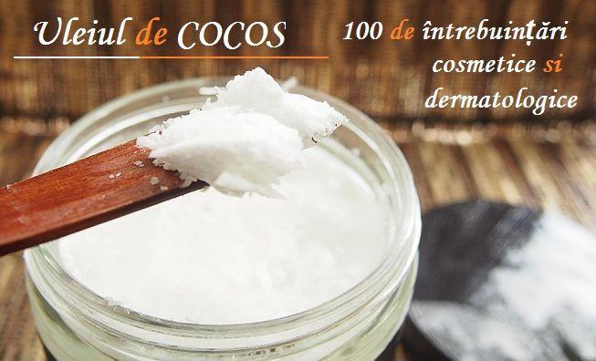 ULEIUL de COCOS poate înlocui aproape orice PRODUS COSMETIC din comerț (întrebuințări uimitoare)   La Taifas