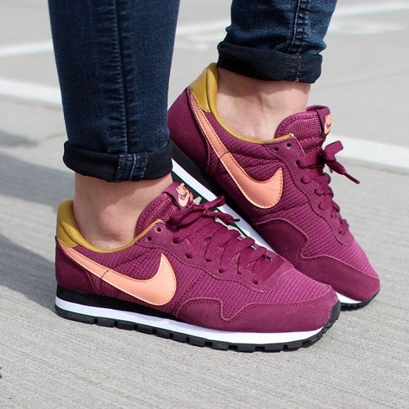 Woman's Nike Air Pegasus '83 Bran new with box woman's Nike sneaker in villain red! Only worn once. Like new condition Nike Shoes Sneakers