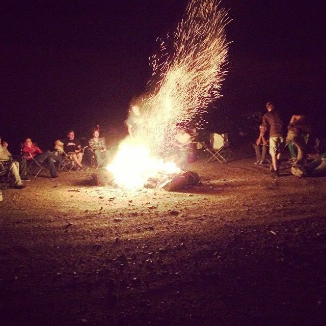 Summer bonfire. -Savage photography