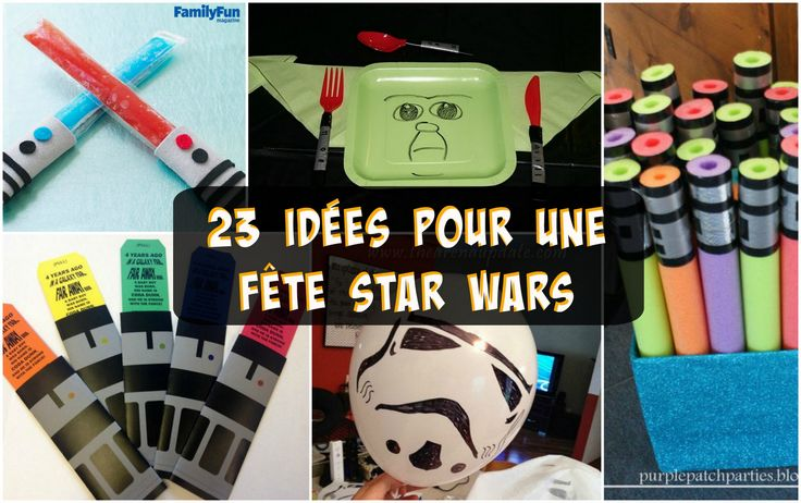 les 25 meilleures id es concernant anniversaire star wars sur pinterest f te th me star wars. Black Bedroom Furniture Sets. Home Design Ideas