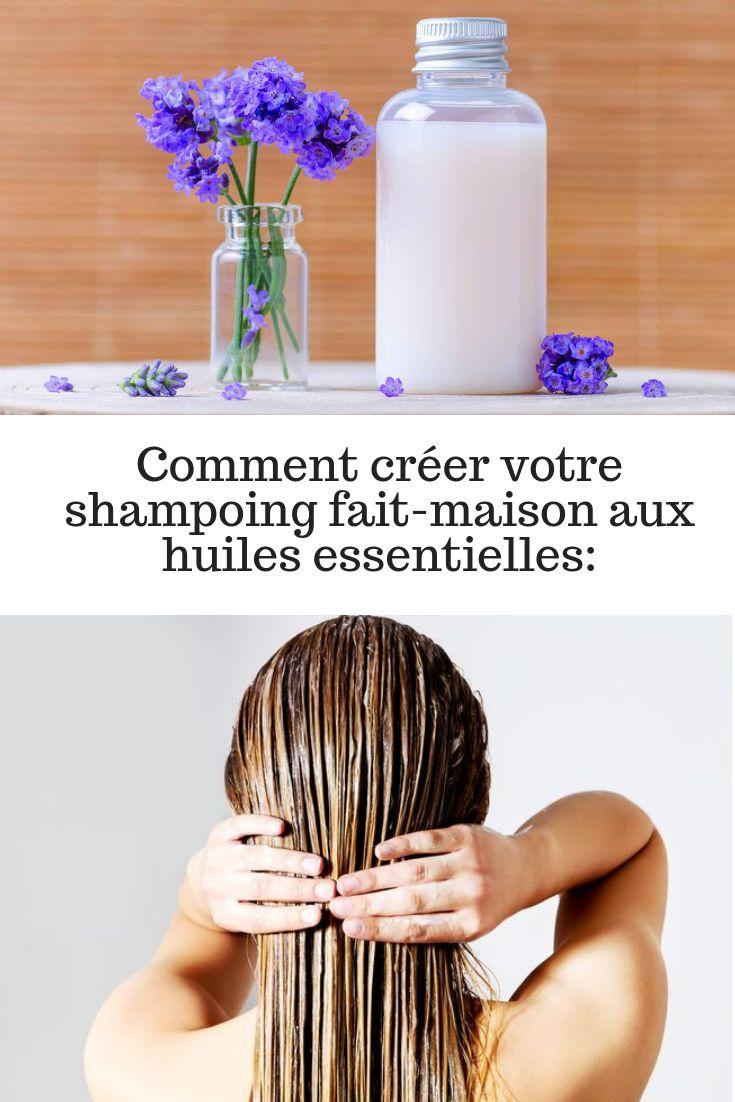 comment cr er votre shampoing fait maison aux huiles. Black Bedroom Furniture Sets. Home Design Ideas