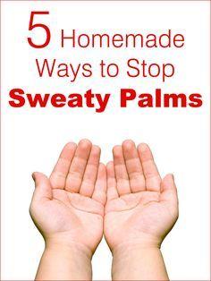 5 Homemade Ways to Stop Sweaty Palms | 5WaysTo.net