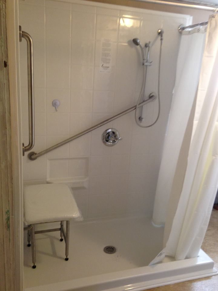 accessible bathroom remodel