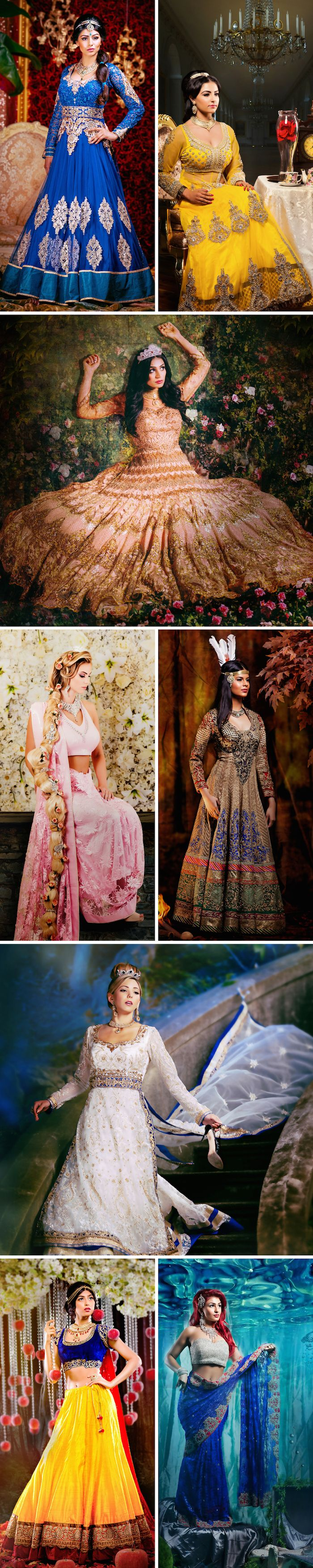 Disney Princesses Indian style   Photography by AMRIT