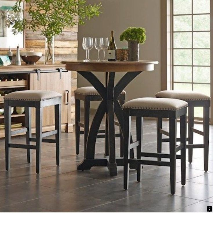 Find More Information On Bar Height Dining Table Set Simply Click Here For More Information Enjoy Pub Table And Chairs Kitchen Bar Design Bistro Table