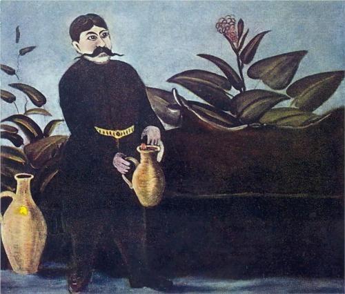 Niko Pirosmani (Georgian: 1862-1918) | Sarkis Pouring Wine