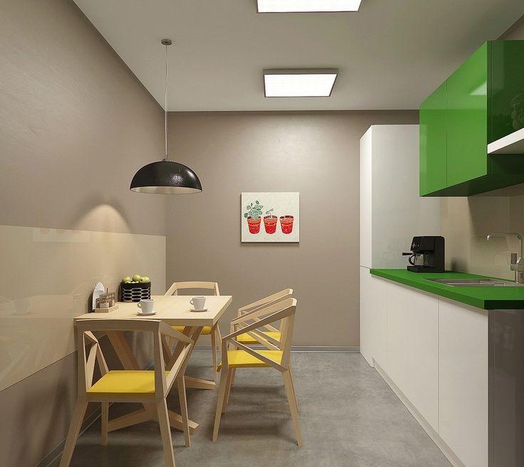 Офисные мини-кухни - максимальное использование малых площадей благодаря грамотной организации систем хранения