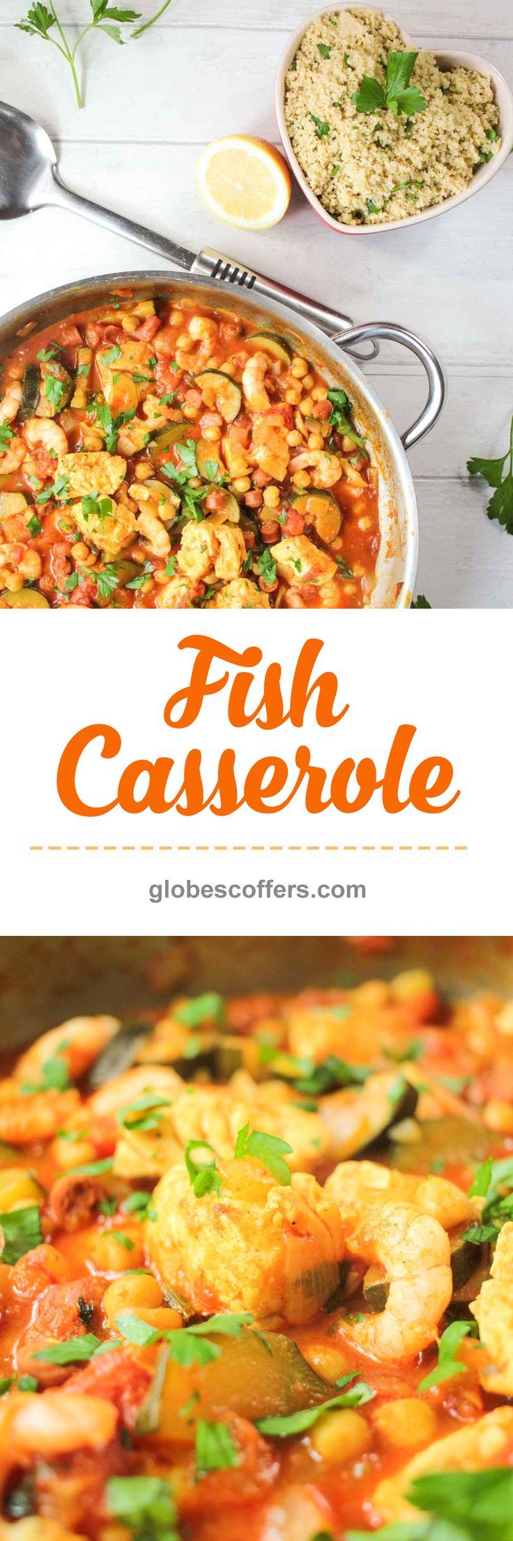 Fish Casserole Recipe - Globe Scoffers | globescoffers.com