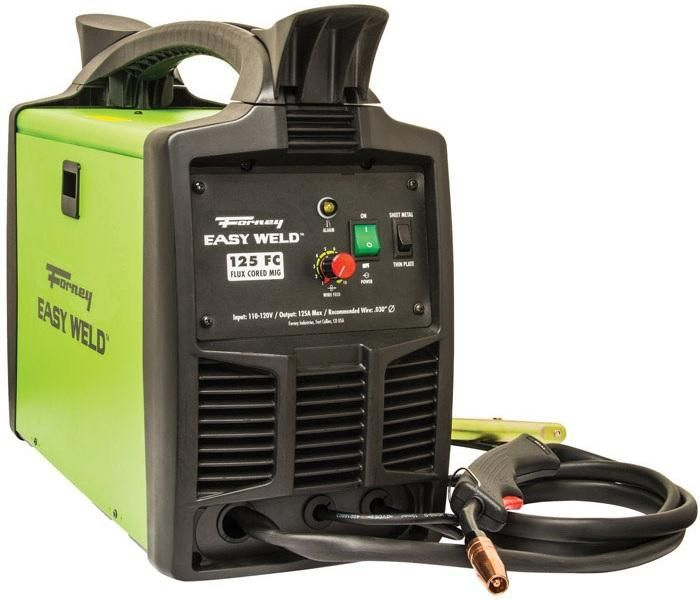 Forney 299 Easy Weld Flux-Core Welder, 125 Amps, 120 Volts