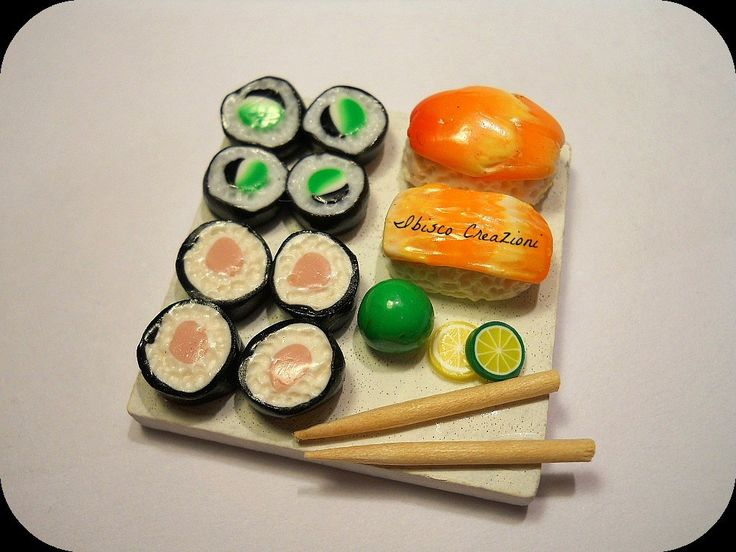 Sushi, by Ibisco Creazioni, 7,50  su misshobby.com