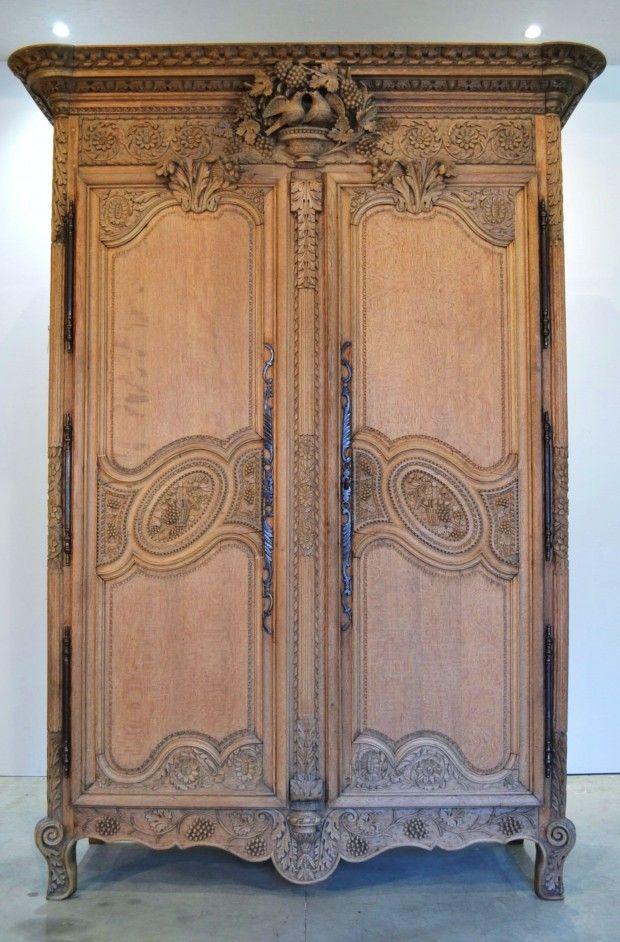 363 best mobilier rustique moderne ancien images on pinterest antique f - Armoire d angle blanche ...