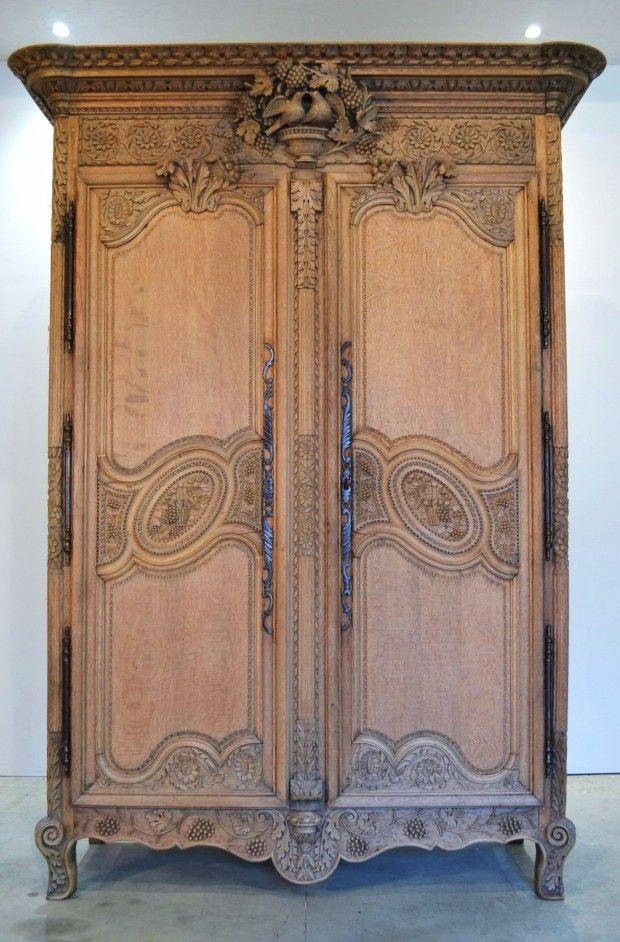 armoire normande blanche, armoire normande blanchi