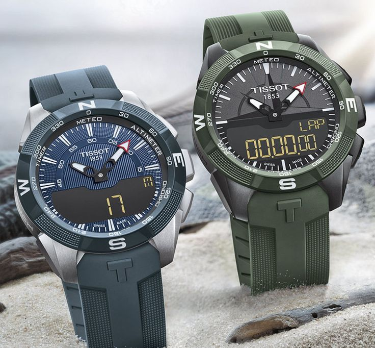 Tissot releases the T-Touch Expert Solar II in green military-style and a blue marine-style model. Probably not the last versions of this model for 2017. See what it's all about.