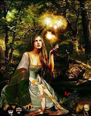 Damara -  English fertility Goddess associated with Bealtaine.