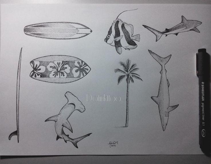 Mais alguns desenhos disponiveis para tatuar nos dias de flash que acontecera 3 e 4 de junho!  Para mais informações agendamento e orçamentos:  http://ift.tt/1P4Yv04 E-mail: espacoalvorada@hotmail.com  Telefone: (11) 5061-3791  Whatsapp: (11) 94465-2343  #flashtattoo #art #shark #flashworkers #tattooart #tattoo #tatuagem #tattoo2me #drawing2me #espacoalvorada #adolfomoreira #art_of_nature #tattoobrasil #tubarão #sp #saopaulo #prancha #pontilhismo #ink #dotworktattoo #peixe…