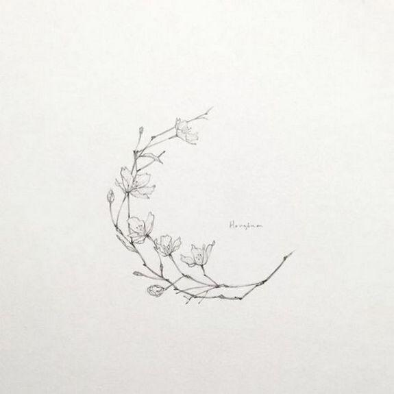 Floral tattoo delicate top design ideas 54 - YS Edu Sky