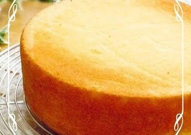 Moist And Fluffy Sponge Cake Genoise Sponge Cake