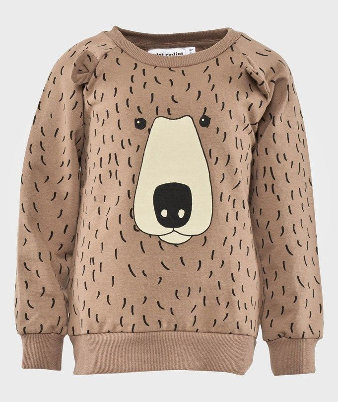 Mini Rodini - Bear Aop Sweatshirt, AW 14