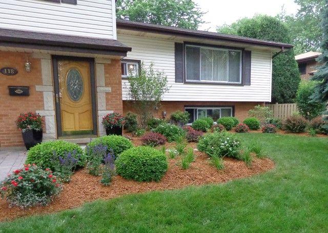 48 best Split-Level Landscaping images on Pinterest ... on Split Level Backyard Ideas id=68725