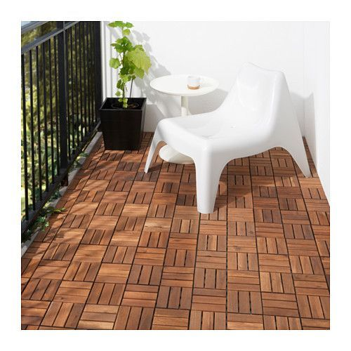 RUNNEN Floor decking, outdoor IKEA Floor decking makes it easy to refresh your terrace or balcony.