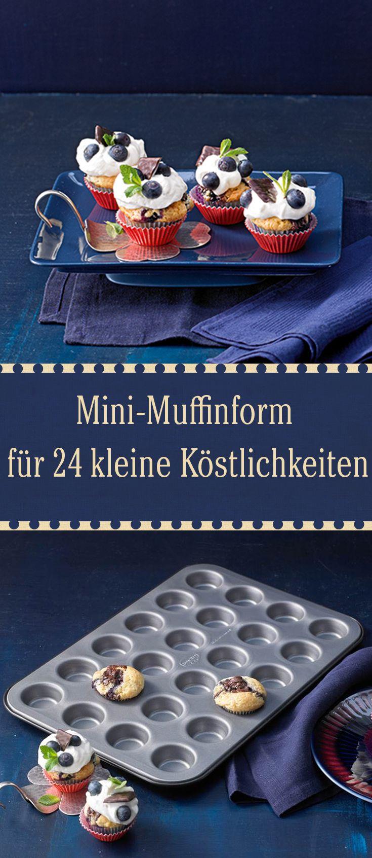Verschenken Sie diese Mini-Muffinform an Liebhaber von kleinen Köstlichkeiten