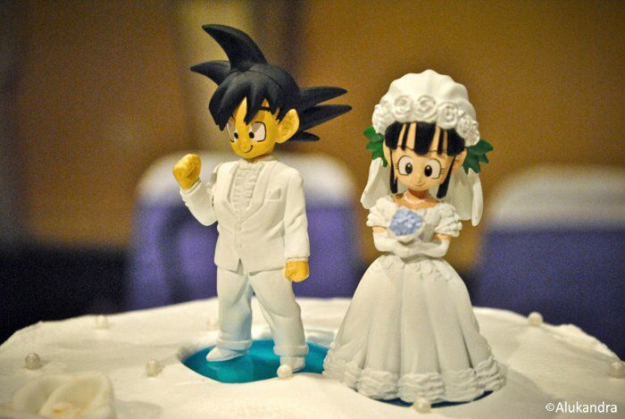 DBZ cake topper? Hell yes! My future husband has to be in love with it just as much as I am.