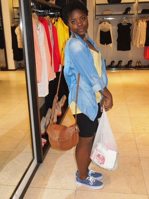 After shopping