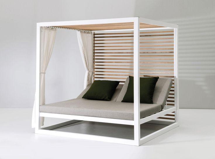 die besten 25 daybed garten ideen auf pinterest daybed outdoor balkonm bel lounge und. Black Bedroom Furniture Sets. Home Design Ideas