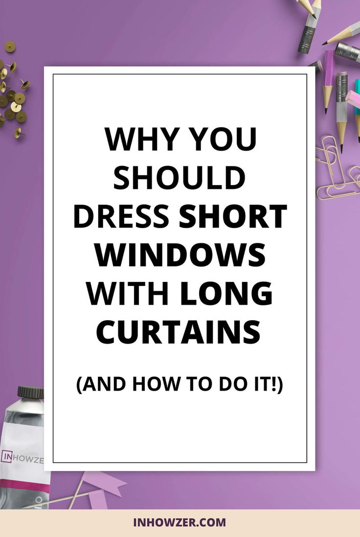 1000 ideas about short window curtains on pinterest for Long windows for sale