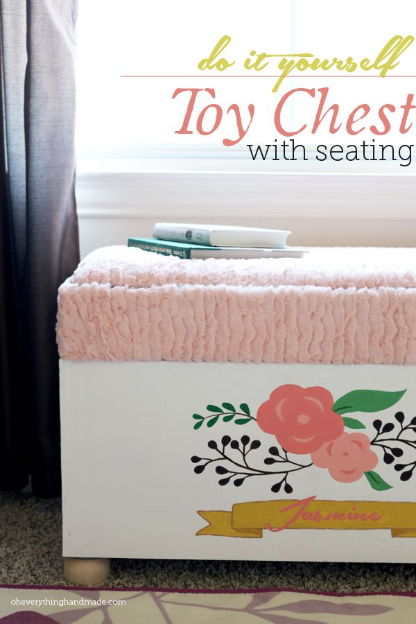 Make Your Own Toy Chest - Downloadable Free Plans