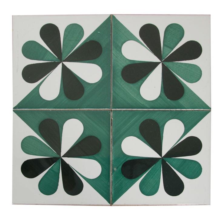 Ceramic Tiles by Gio Ponti  Italy  c. 1964