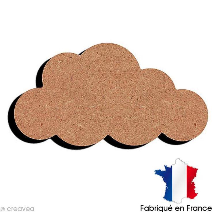 Compra nuestros productos a precios mini Nube de madera - 12 cm - Entrega rápida, gratuita a partir de 89 € !