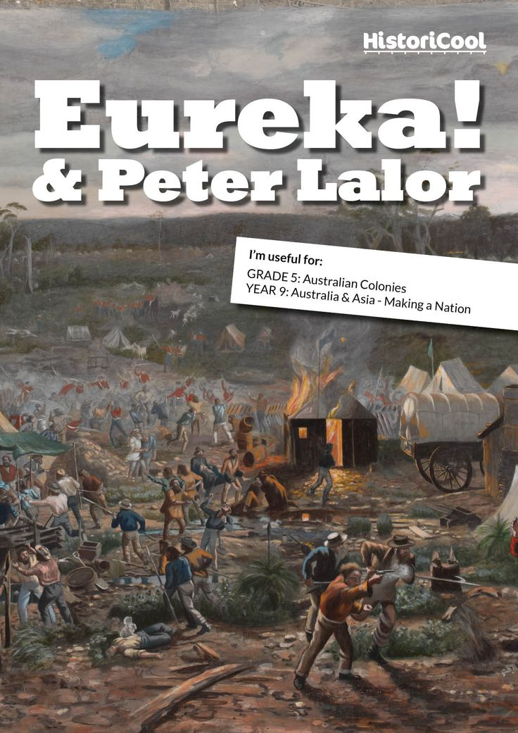 What does the Eureka Stockade mean for all Australians? Use the Eureka Stockade Resource Bundle to engage your students in a study of the Victorian goldfields and the fight for rights that helped to underpin Australian democracy. This resource is delivered as a PDF in A4 size. So, what's included? Dozens of ideas to introduce the topic, dig a little deeper and get creative with it! Engaging 700-word biographical article entitled Eureka! It's Peter Lalor! targeted at readers in Years 5 to 9…