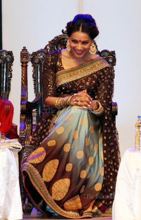 Bipasha has such fabulous taste when it comes to sarees!