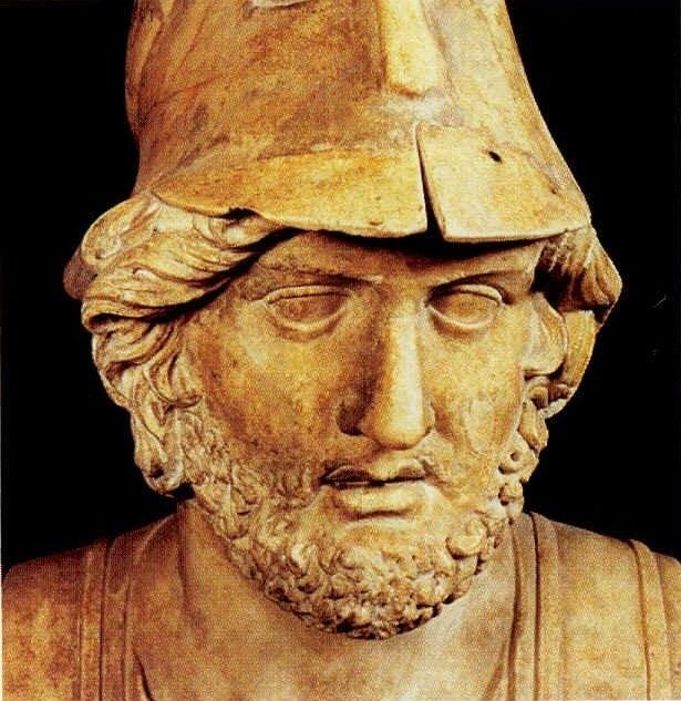 Themistocles (524 - 459 a. C) Athenian politician and general. One of the most important battles of the ancient world was that of Salamis (Medical War II, in 480 a. Of C) and resulted in the destruction by the Greeks of the huge fleet of the Persians. The latter, led by Xerxes, had launched a massive invasion of Greece, Asia Minor through making a huge army raced across the plains of Anatolia, Laodicea, Sardis and Pergamum, intending to cross the Dardanelles to reach the Greeks in the…