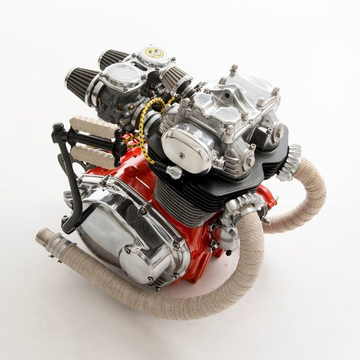 Honda Motorcycle With Fit Engine: 199 Best Images About Engines As Art On Pinterest