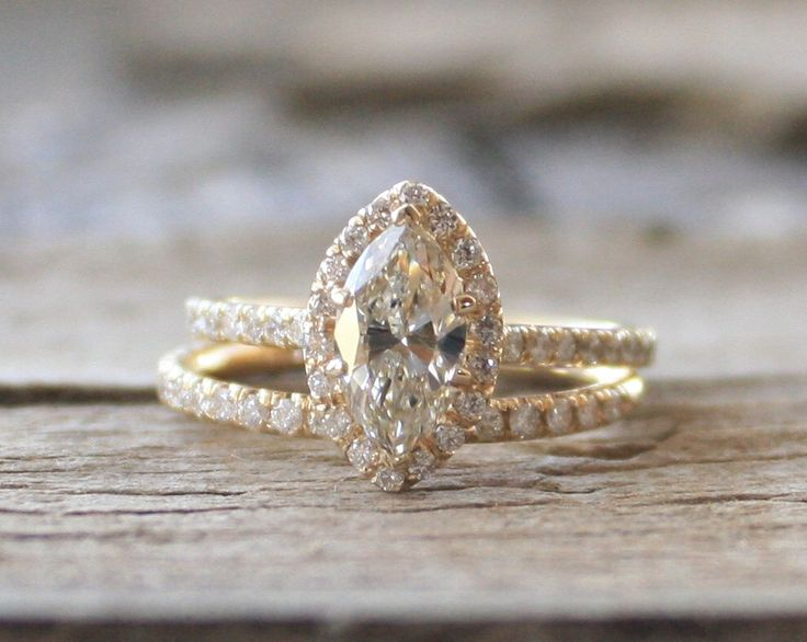 Top 25 best Marquise wedding set ideas on Pinterest Marquise